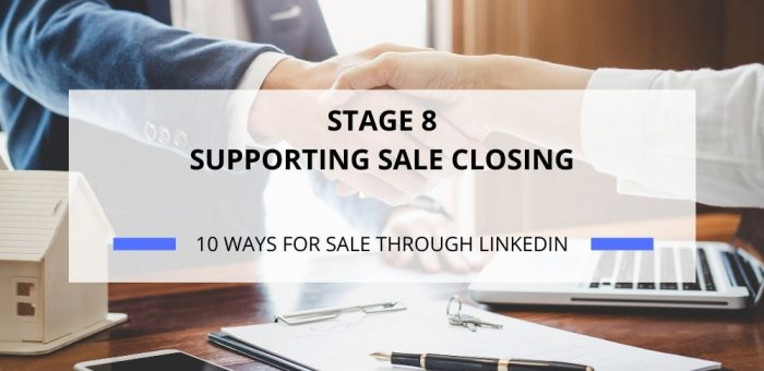 SUPPORTING SALE CLOSING